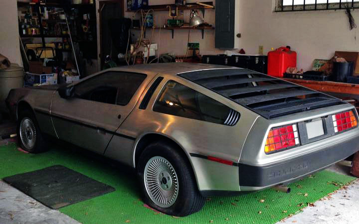 DeLorean DMC-12 Garage Find