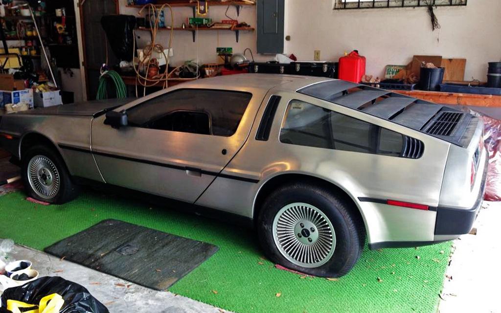 DeLorean Garage Find