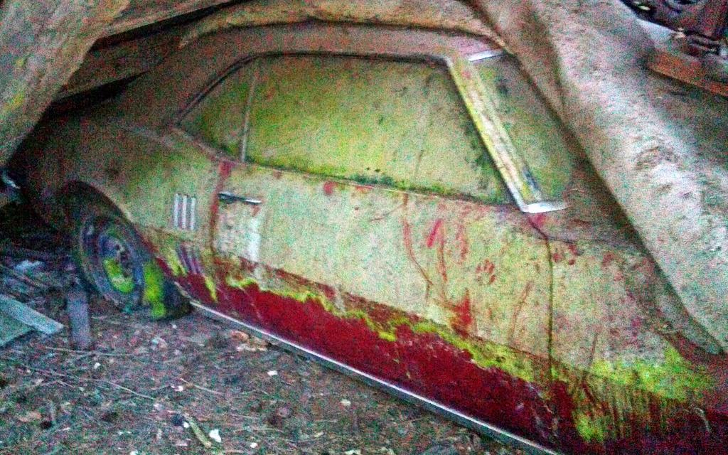 Dirty 1968 Pontiac Firebird