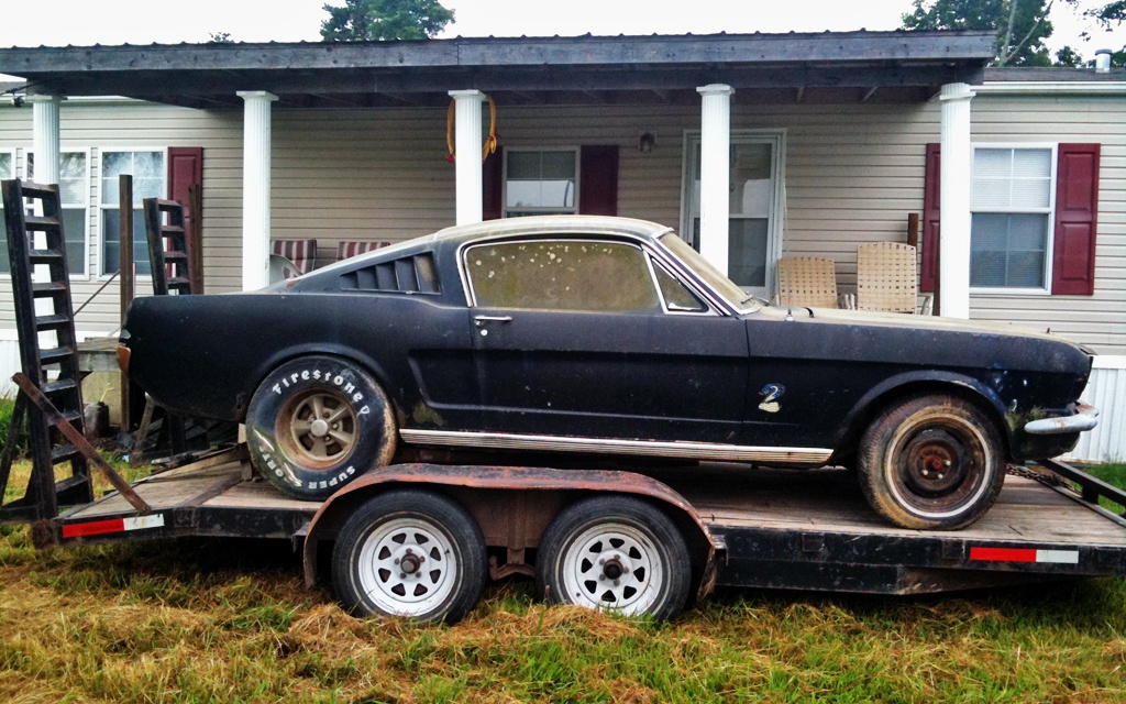 Better Late Than Never 1966 Mustang Fastback