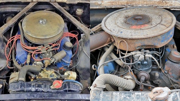 Mustang Comparison - motors