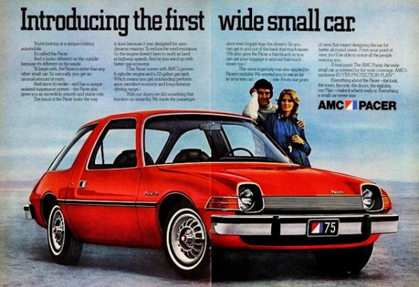 Pacer Ad - Small but Wide
