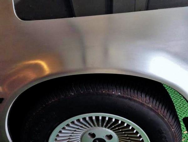 Stainless DeLorean Fender