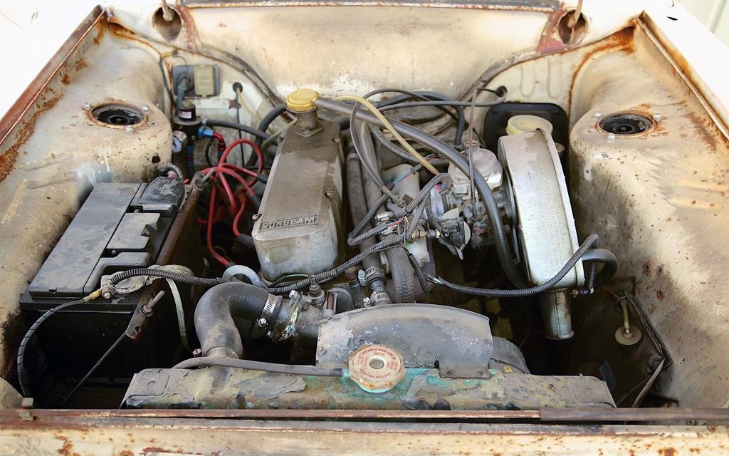 Sunbeam Arrow motor