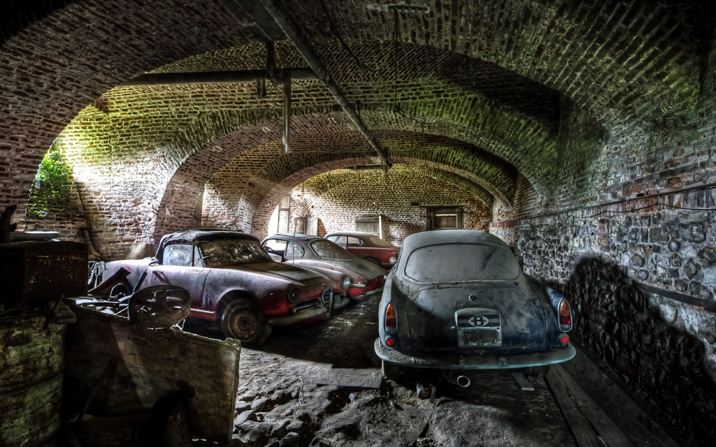 Belgian Alfa Romeo Barn Finds