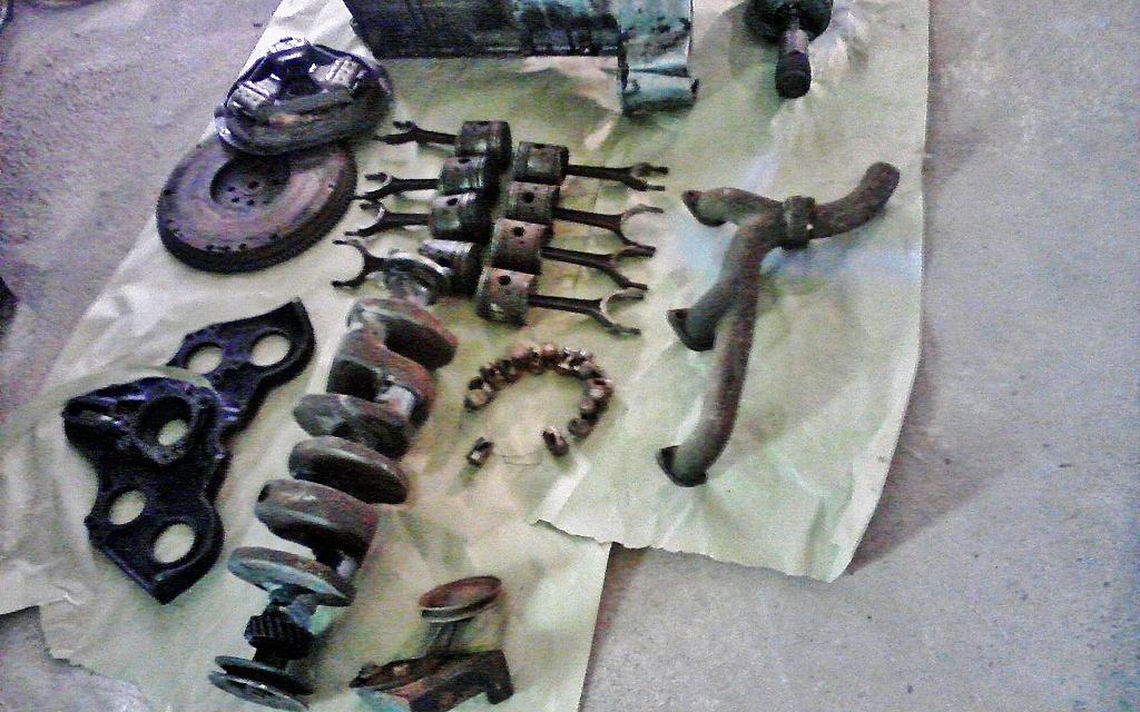 1948 MG TC V8 parts