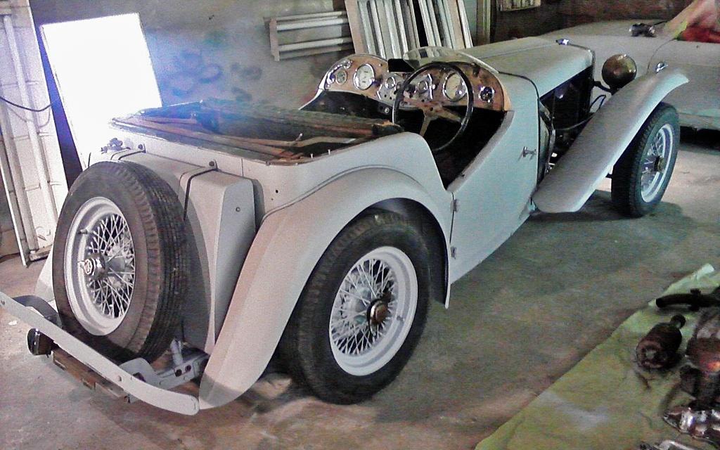 1948 MG TC V8