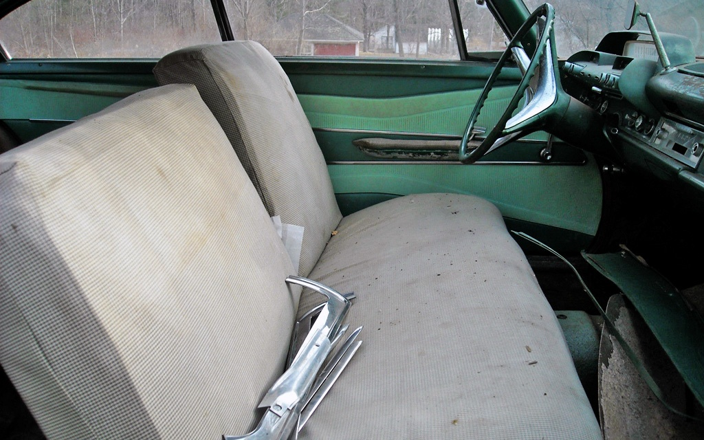 1960 Dodge Dart interior