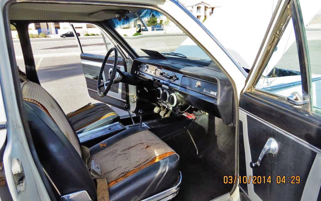 1964 AMC Rambler interior