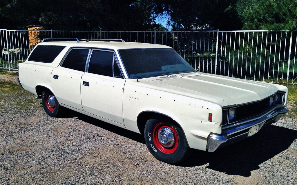 1969 AMC Rebel SST Wagon