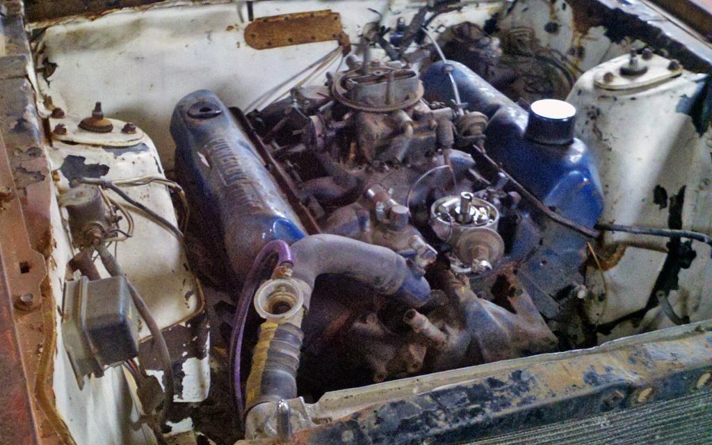 1969 Ford Mustang 390 motor