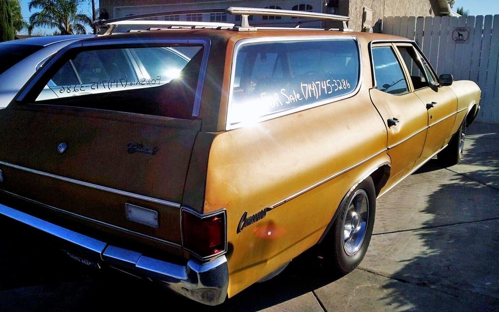 1971 Chevelle Wagon