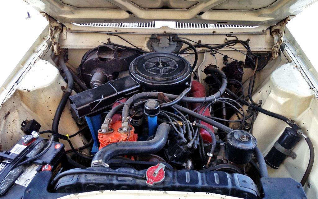 AMC Rebel SST motor