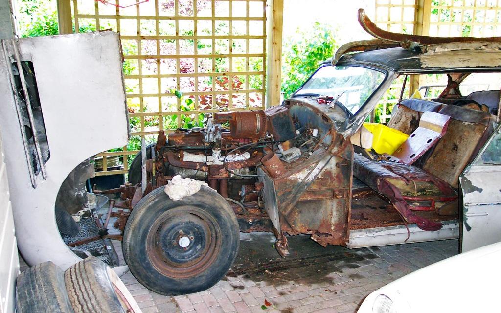 Jensen Parts Car