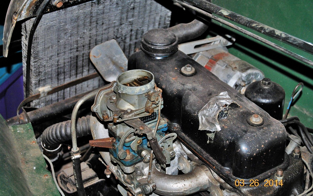 1948 Morgan motor