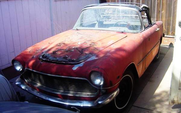 1959 Simca Oceane Convertible