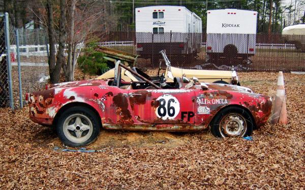 1960 Alfa Romeo race car