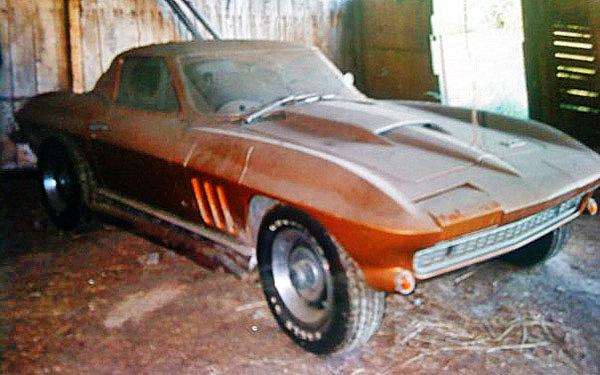 Family Project 1966 Corvette 427 Coupe