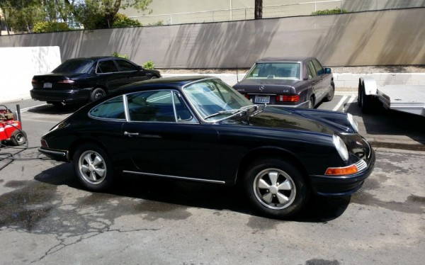 1967 Porsche 911S cleaned up