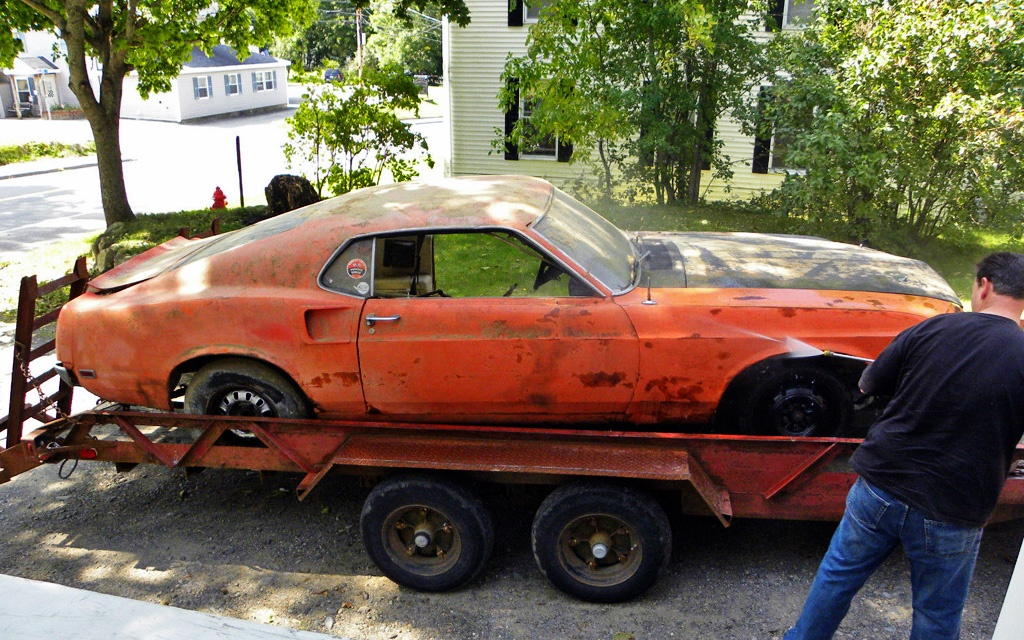 Rusty Pony 1969 Mustang Mach 1