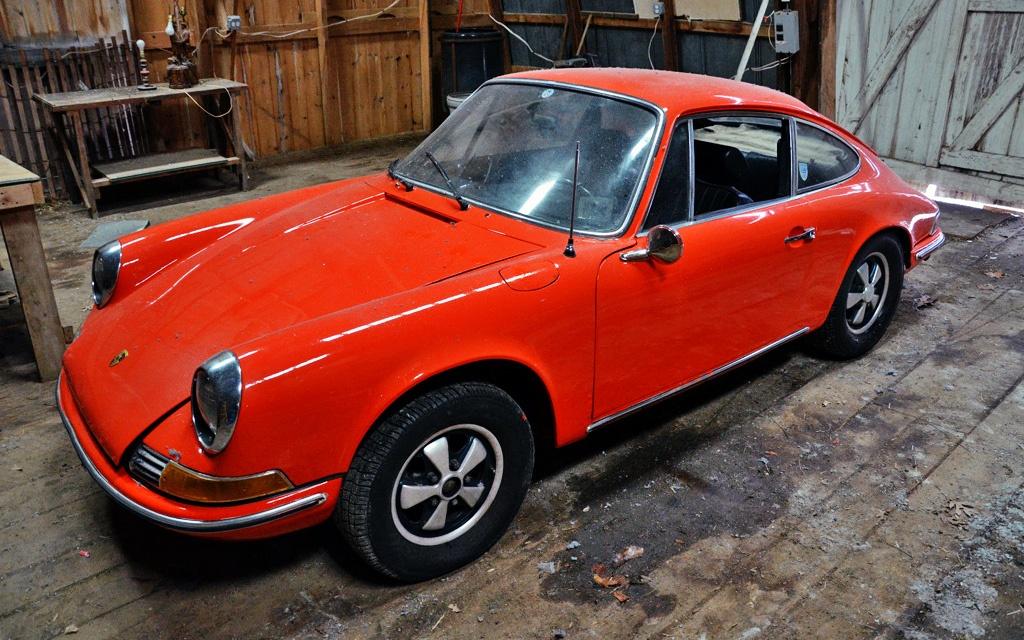 1969 Porsche 912 To 911 Conversion