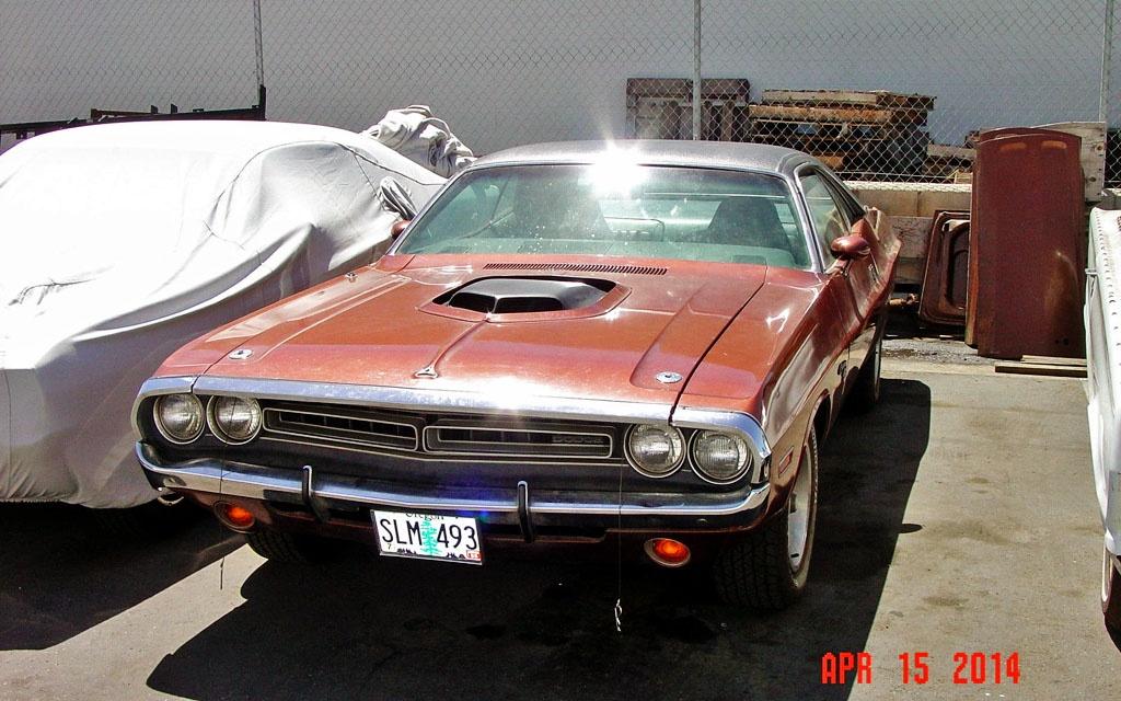 Hemi Power 1971 Dodge Challenger R T