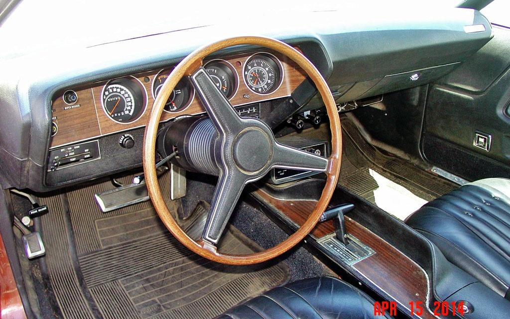 1971 Dodge Challenger Interior