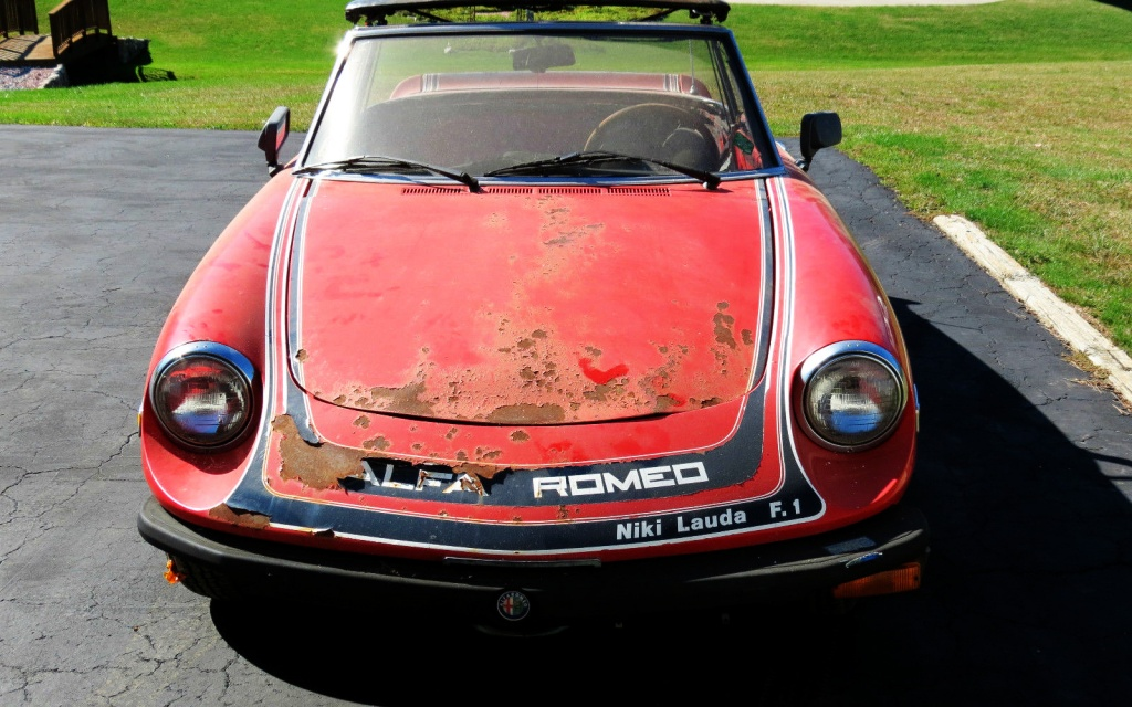 The Niki Lauda Edition Alfa Romeo Spider