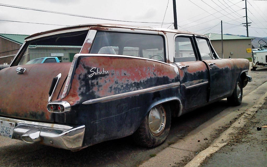 Finned Plymouth Wagon