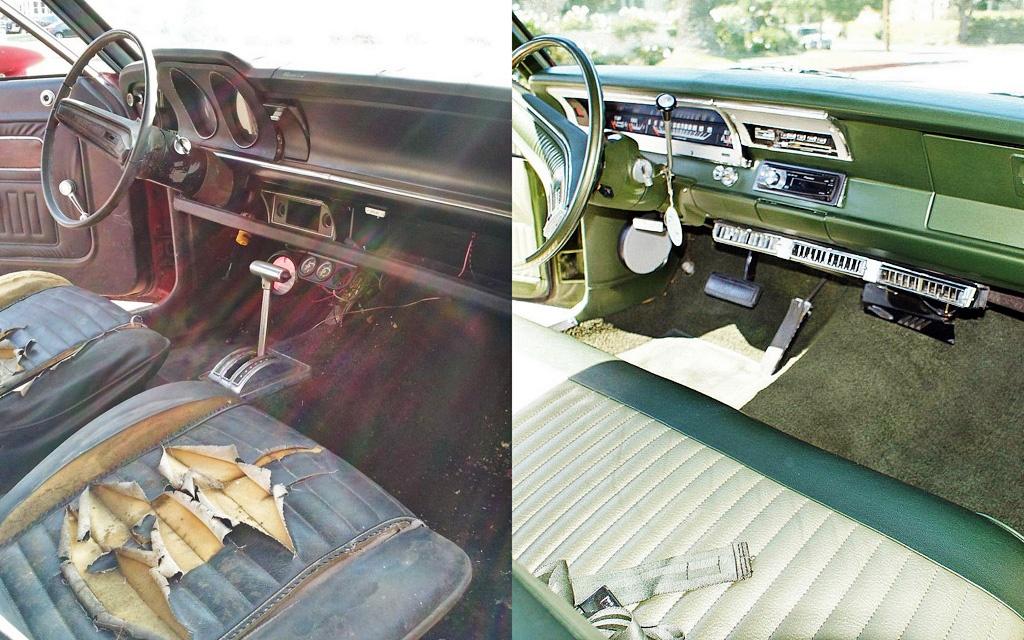 Grabber vs Swinger interior