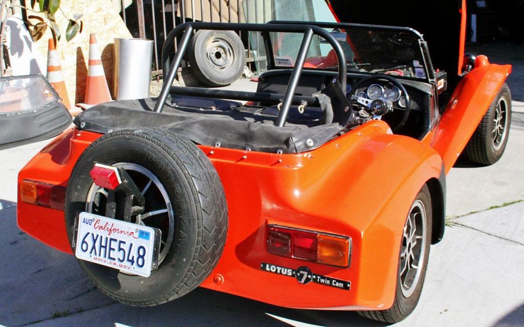 Lotus Seven tail