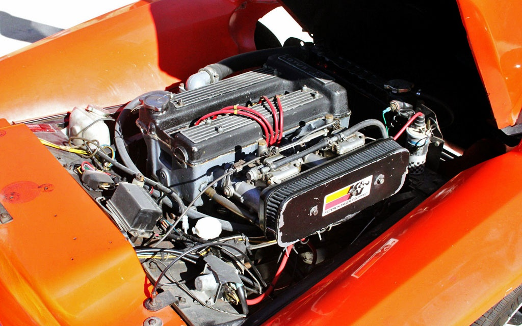 Lotus Seven twin cam motor