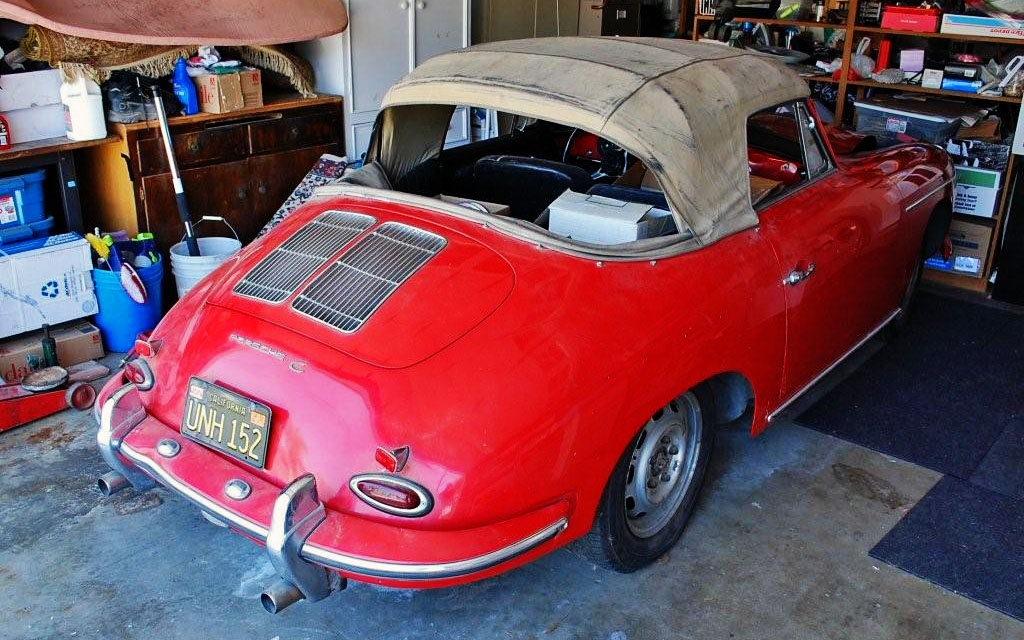 Original 1965 Porche 356C