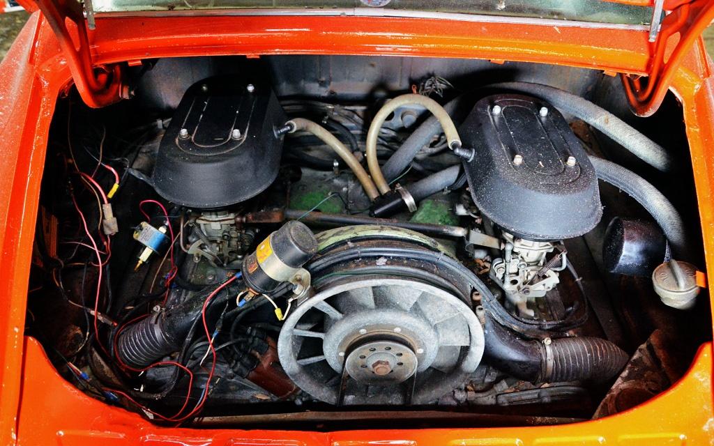 Porsche 912 engine swap