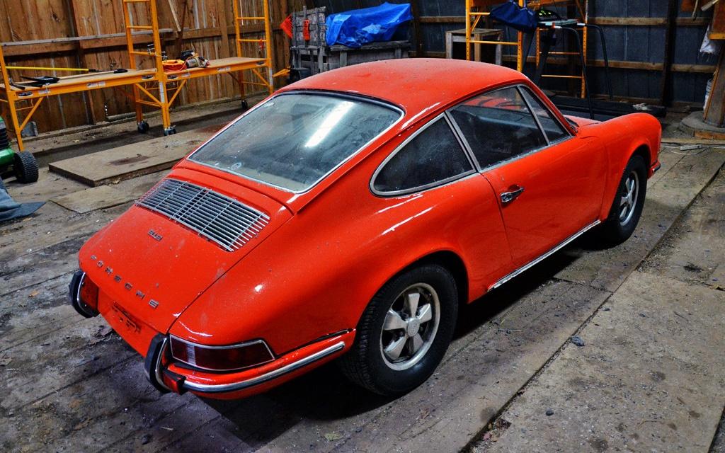 Porsche 912 with 911 motor