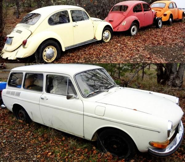 VW Lot