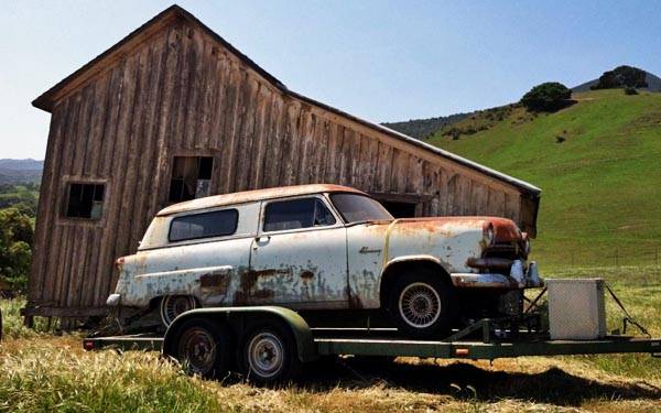 1953 Ford Delivery Wagon