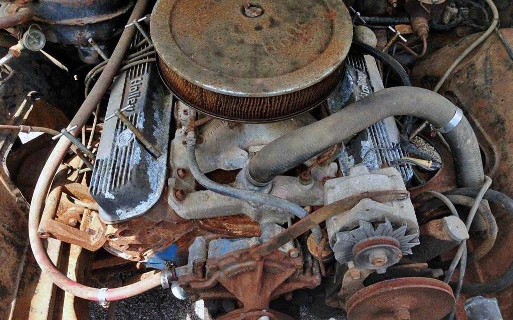 1966 Pontiac GTO Motor
