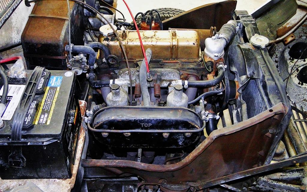 1967 Bond GT4s Motor
