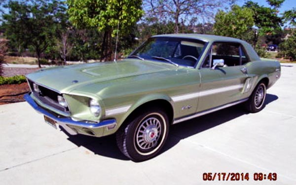 California S Take On The Pony 1968 Mustang Gt Cs