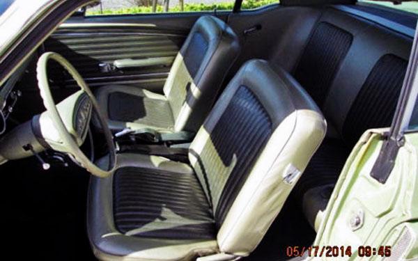 1968 Mustang GT-CS Interior