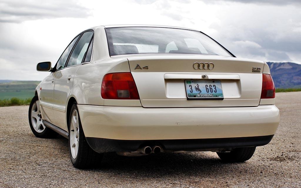 1996 Audi A4 rear end
