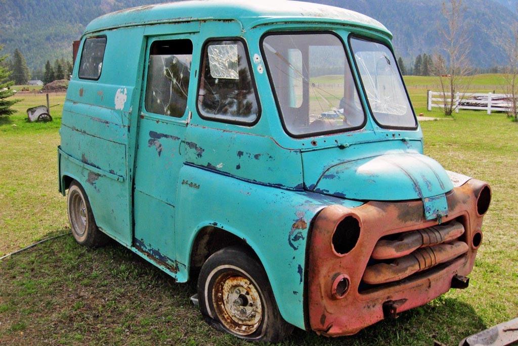 The Short Bus Dodge Postal Delivery Van