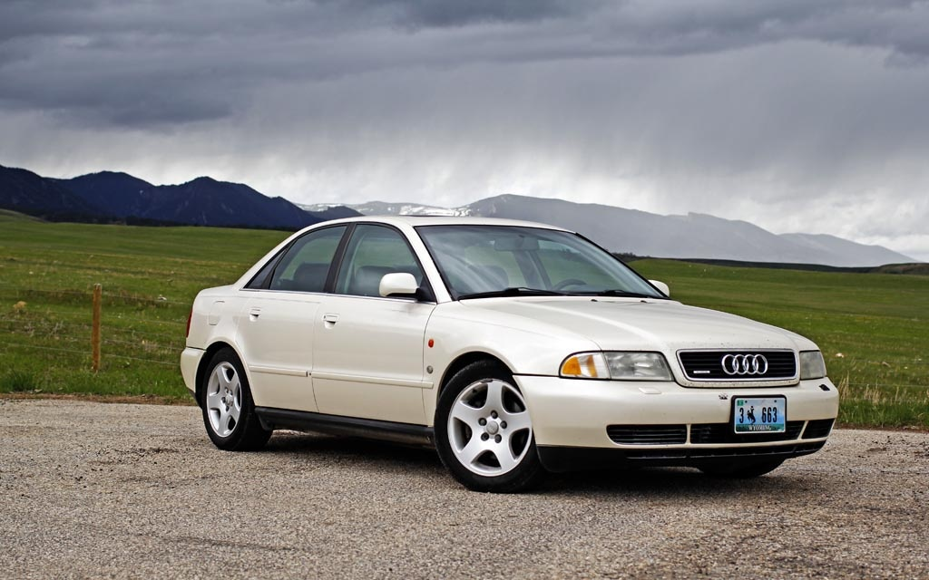 Old Audi A4 Images