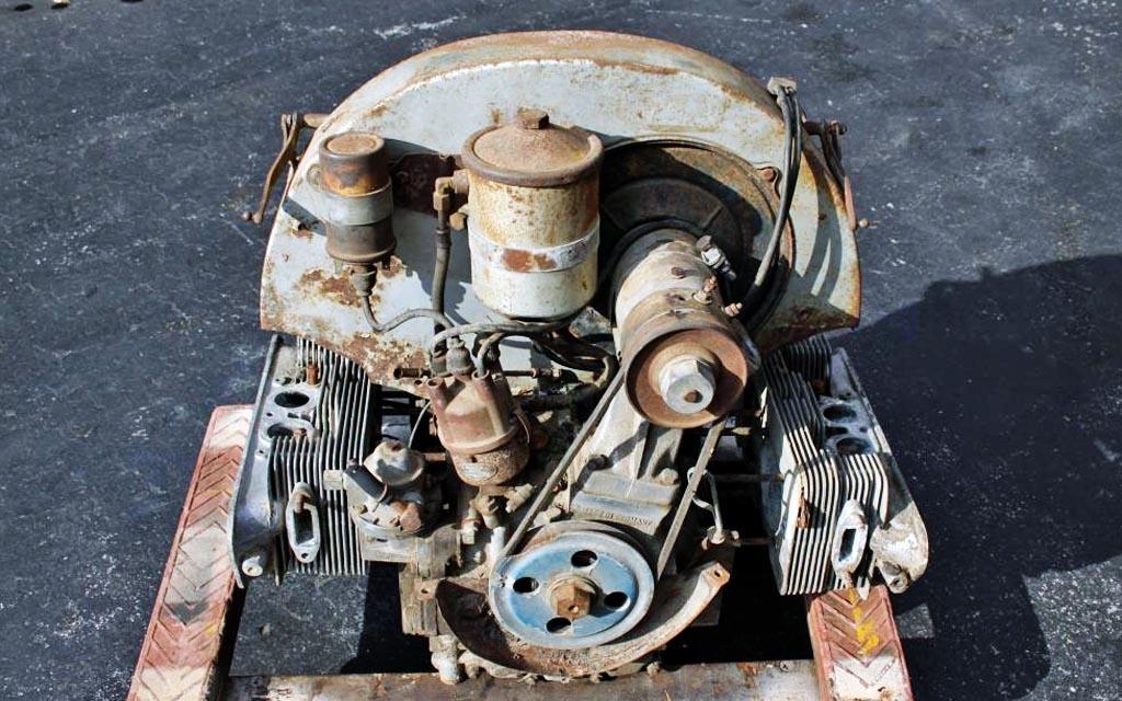 Porsche 356A Motor