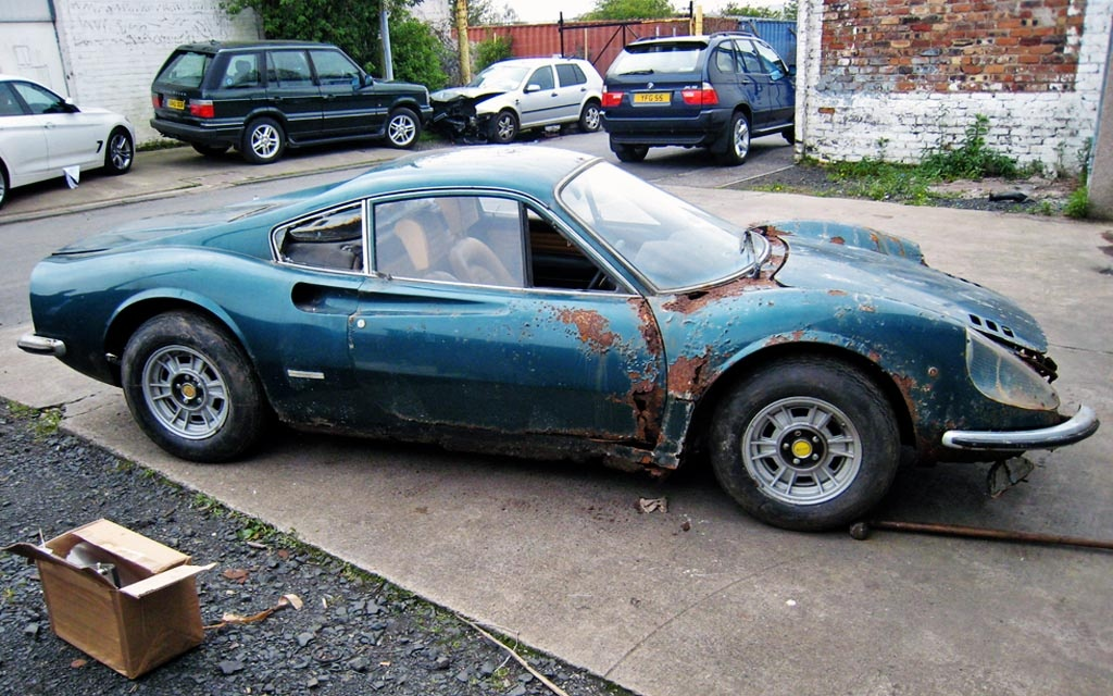 Rusted Dino 246GT