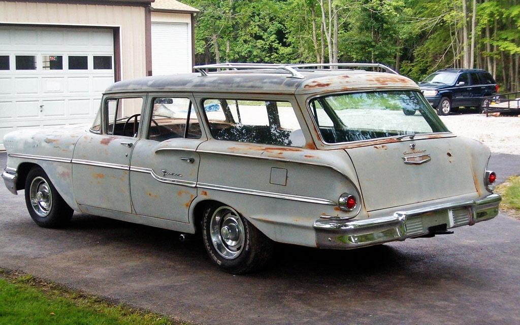 1958 Chevy Yeoman Wagon