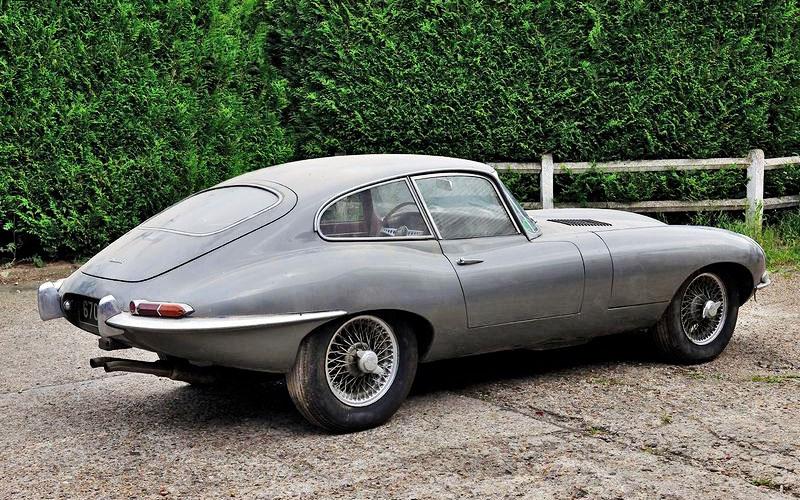 French Garage Find: 1964 Jaguar E-Type - Barn Finds