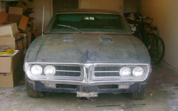 1967 pontiac firebird 400 garage find for Garage finder