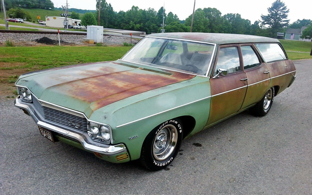 1970 Chevy Townsman Wagon